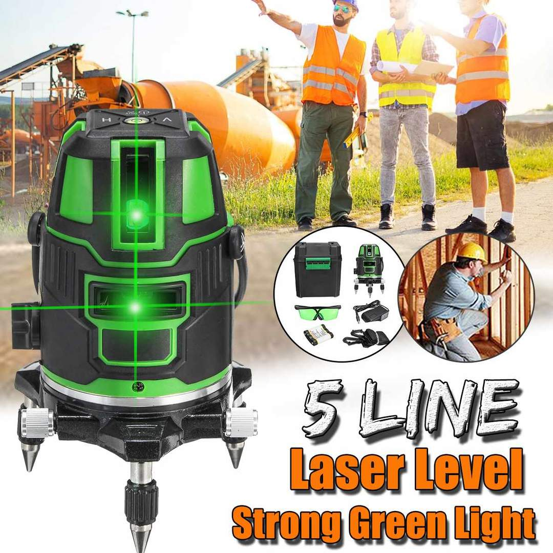 DEK™ 3D Green Beam Laser Level