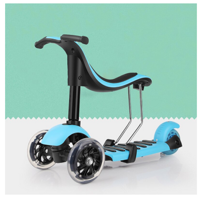 3-in-1 Transforming Toddler Scooter