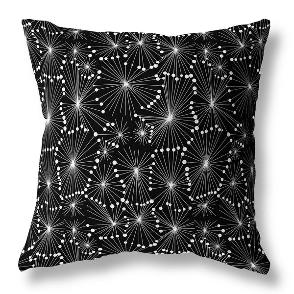 Dandelion Seed Cushion - Black 50S