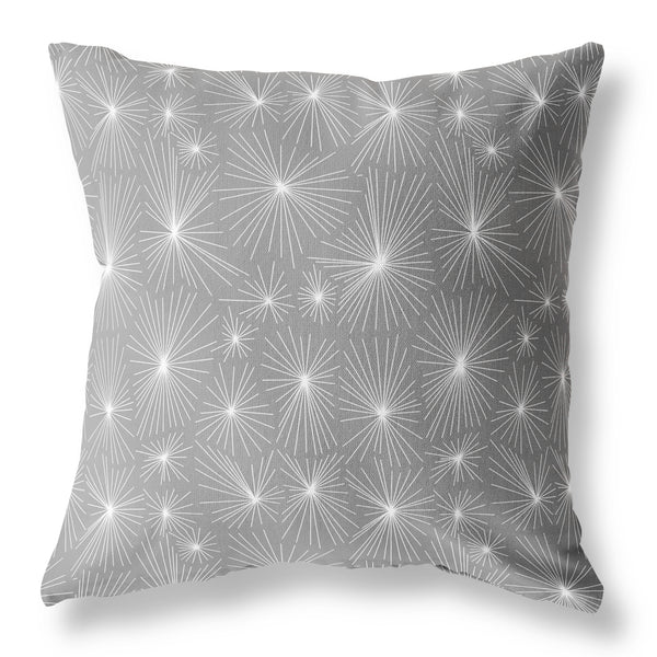 Dandelion Cushion - Charcoal Light V