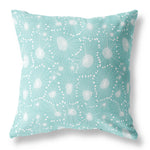 Dandelion Seed Cushion - Ice Blue VS