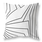 Dandelion Cushion - Black & White 350
