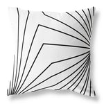 Dandelion Cushion - Black & White 380