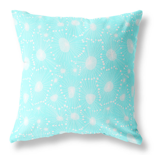 Dandelion Seed Cushion - Azure VS