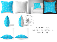 Dandelion Cushion - Azure Intenso V
