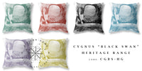 "Cygnus ""Black Swan"" Cushion - Heritage Terracotta"