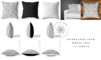 Dandelion Seed Cushion - White IIIS