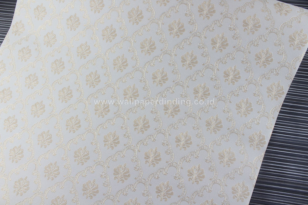 Wallpaper Dinding Batik Cream D1808-1 - Java Wallpaper