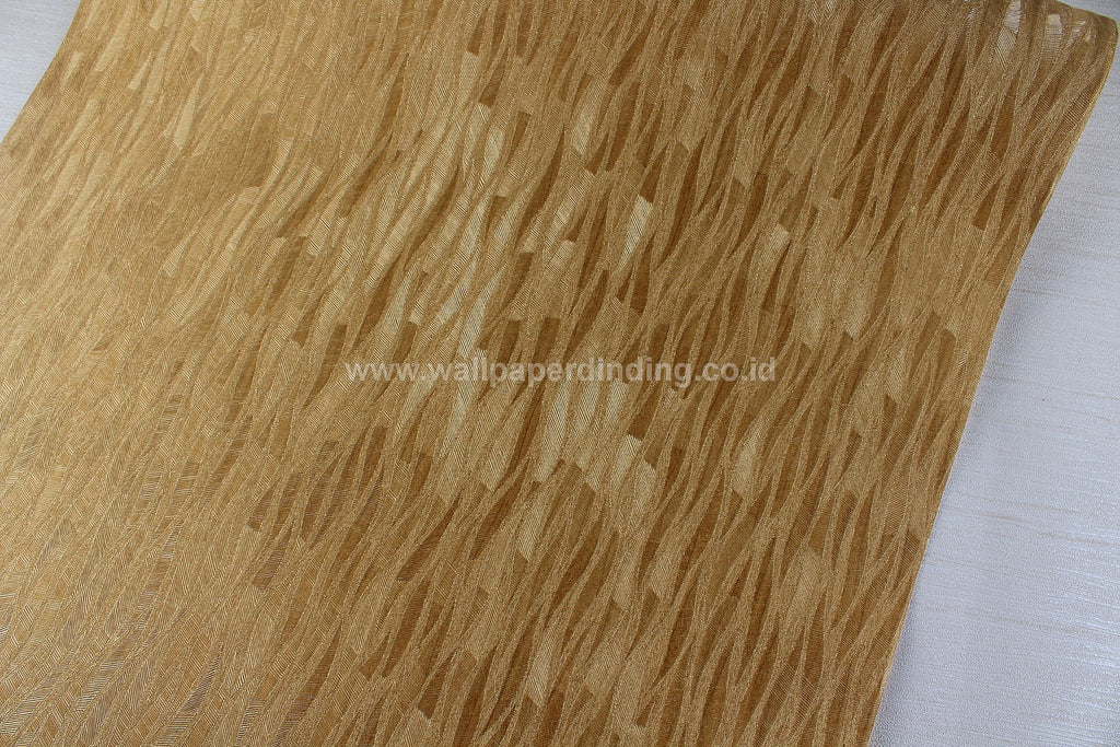 Wallpaper Dinding Garis Minimalis Gold PR P7703-06 - Java Wallpaper