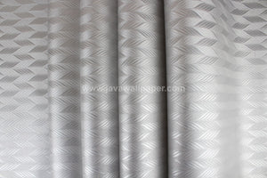 Wallpaper Dinding Garis Abu-Abu Silver SO149 - Java Wallpaper