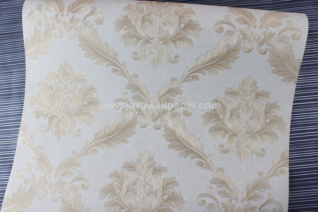 Wallpaper Dinding Batik Gold D1810-2 - Java Wallpaper