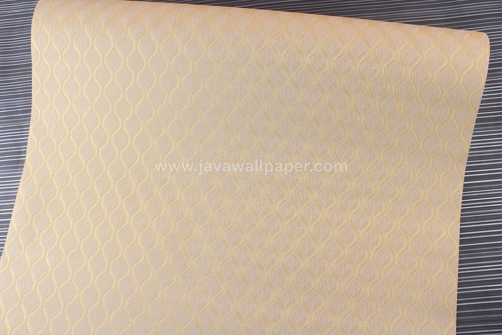 Wallpaper Dinding Batik Sulur Gold D1806-3 - Java Wallpaper