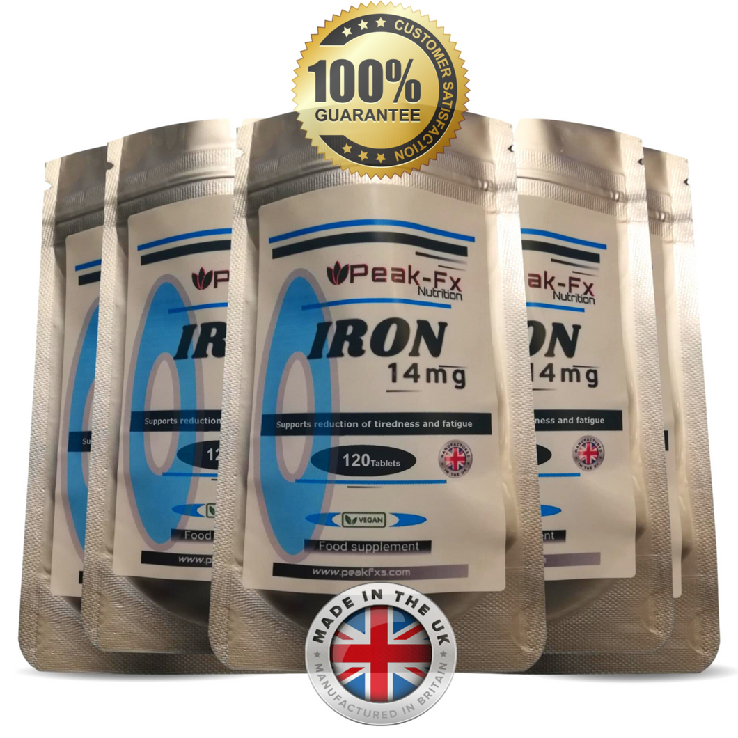 Iron 14mg - 120 Tablets - One-a-Day, T