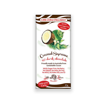 Coconut Supreme Chocolate - Vegan Supply