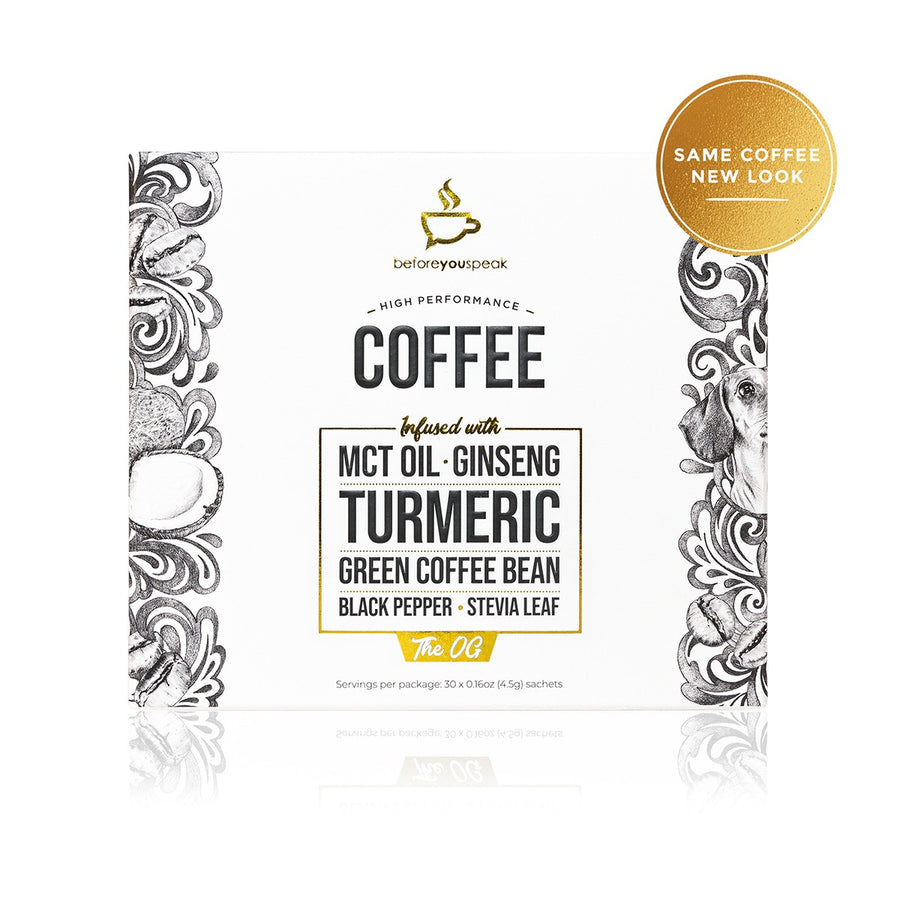 HIGH PERFORMANCE COFFEE THE OG (30 Pack) - Vegan Supply