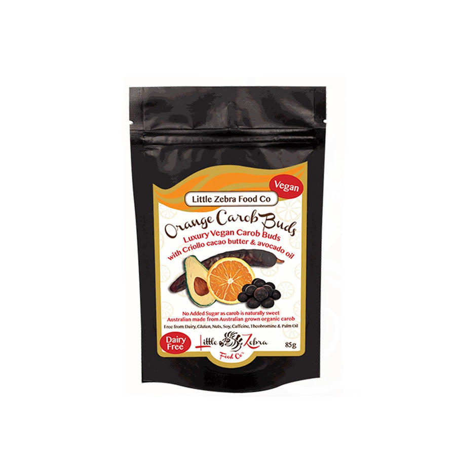 Orange Carob Buds - Vegan Supply