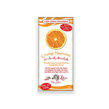 Orange Supreme Chocolate - Vegan Supply