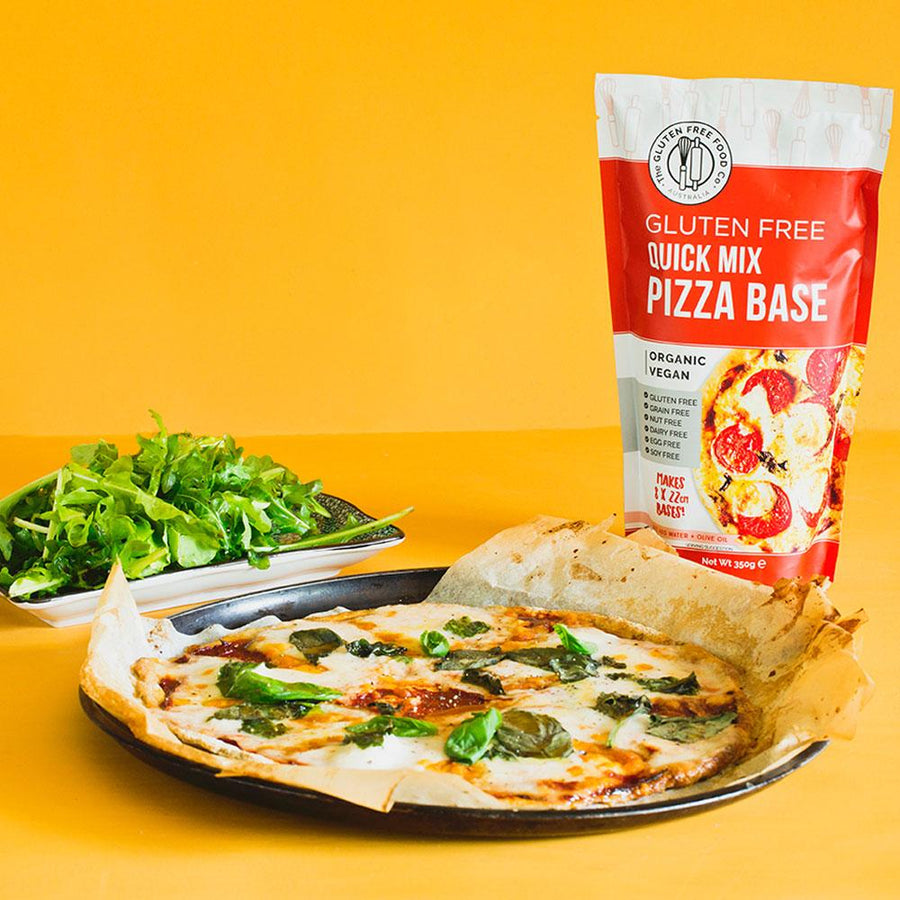 Pizza Bases Mix - Vegan Supply