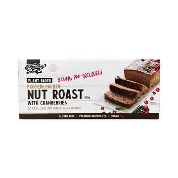 Plant-Based Nut Roast with Cranberries - Vegan Supply
