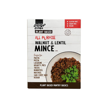 Plant-Based Walnut & Lentil Mince - Vegan Supply