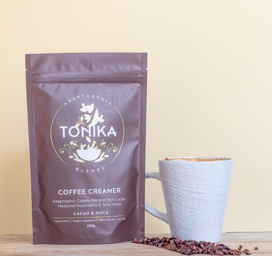 TONIKA: Adaptogenic Coffee Creamer 200g - Vegan Supply