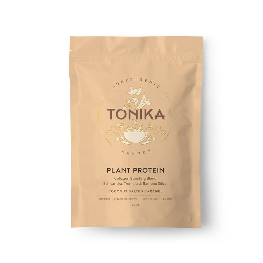 TONIKA: Plant Based Protein - Coconut Salted Caramel - Vegan Supply