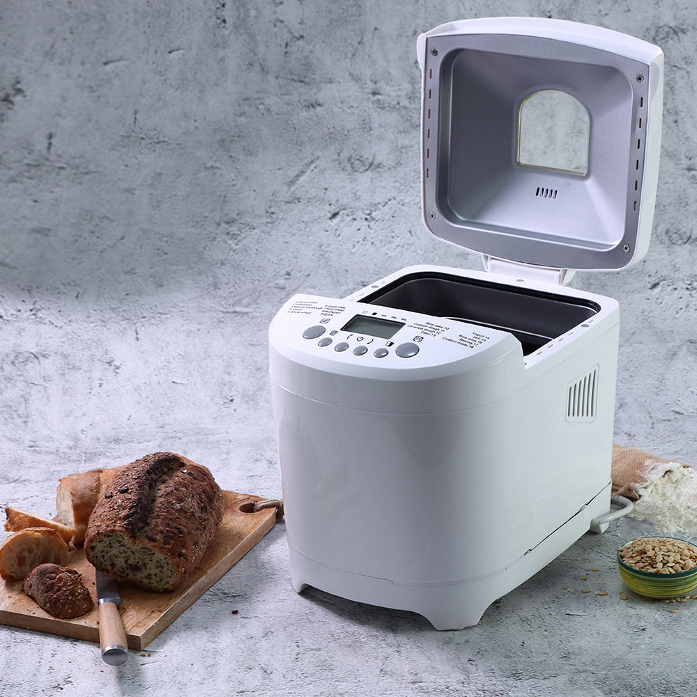 Regalia Plus Bread Maker, Fully Automatic, 18 Pre-programmed Functions,  Adjustable Crust Control, 2 Years Warranty, 600W - White