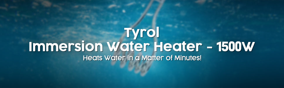Tyrol Immersion Water Heater