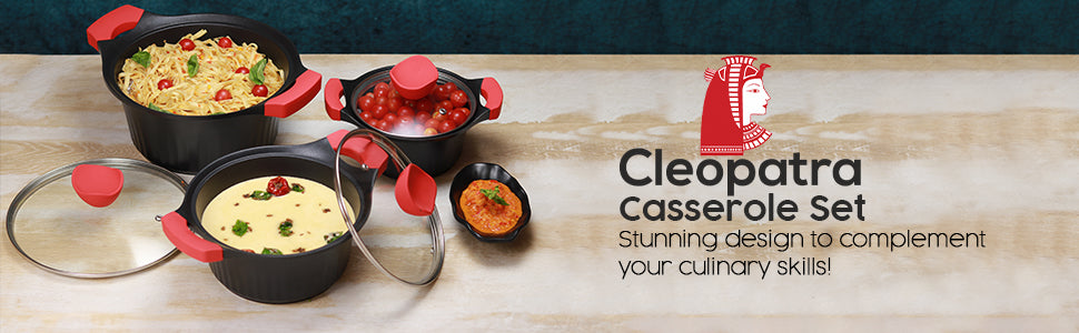 Wonderchef Cleopatra Die-Cast Pans