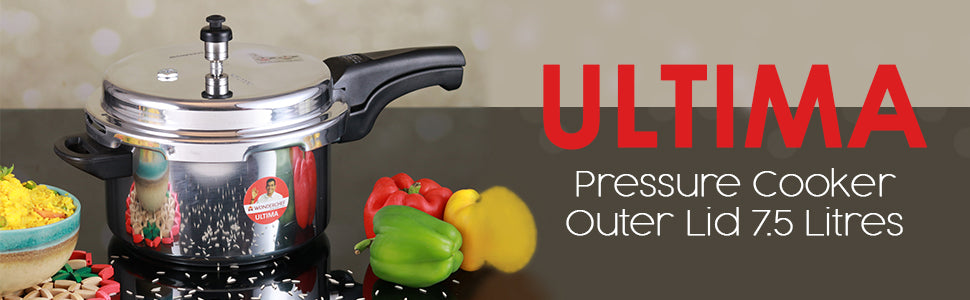 Wonderchef Ultima Pressure Cooker Outer Lid 7.5L