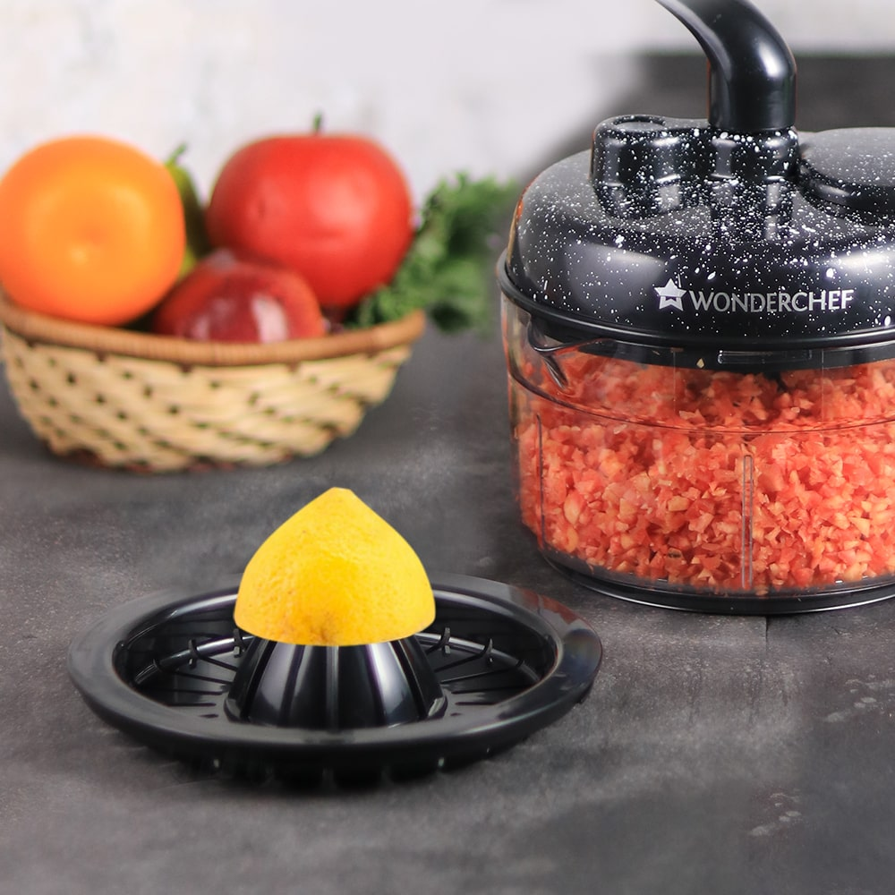 Turbo Chopper And Citrus Juicer