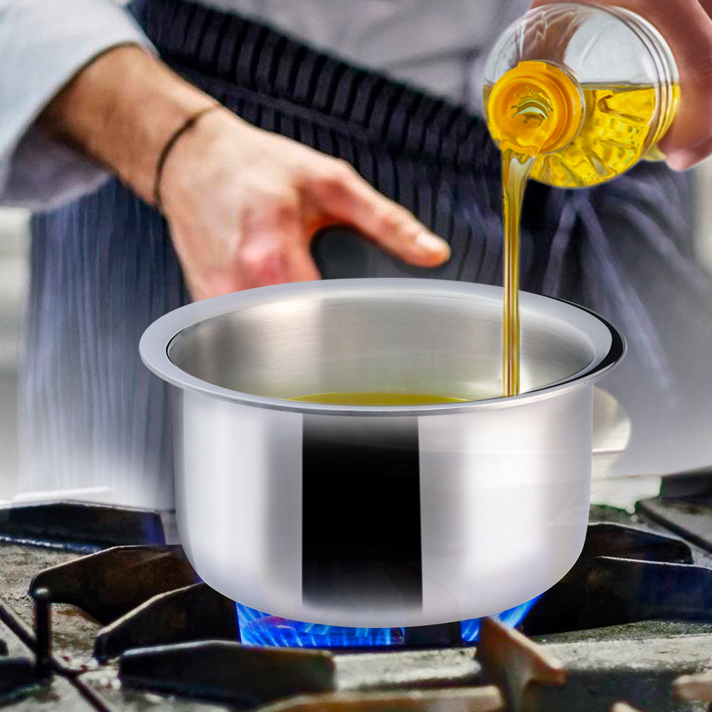 Nigella 3-Ply Stainless Steel Cooking Pot 18cm