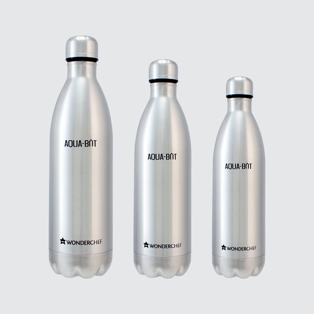 Aqua-Bot Double Wall Stainless Steel Vacuum Insulated Hot and Cold Flask