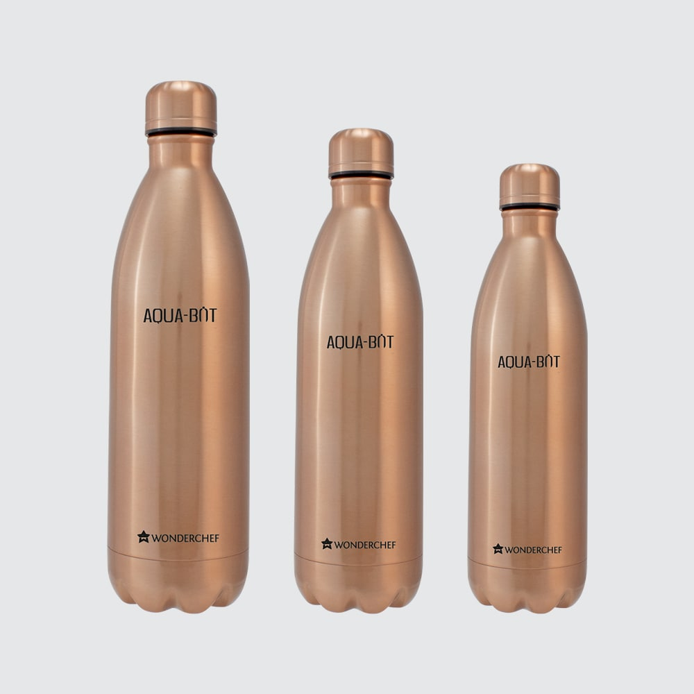 Aqua-Bot Double Wall Stainless Steel Vaccum Insulated Hot and Cold Flask