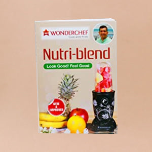 Nutri-blend BOLT-600W Mixer-Grinder, Stronger & Swifter with Sipper Lid, 22000RPM, 2 Unbreakable Jars, Sharper Steel Blades, 2 Years Warranty, Red, Online Recipe Book By Chef Sanjeev Kapoor