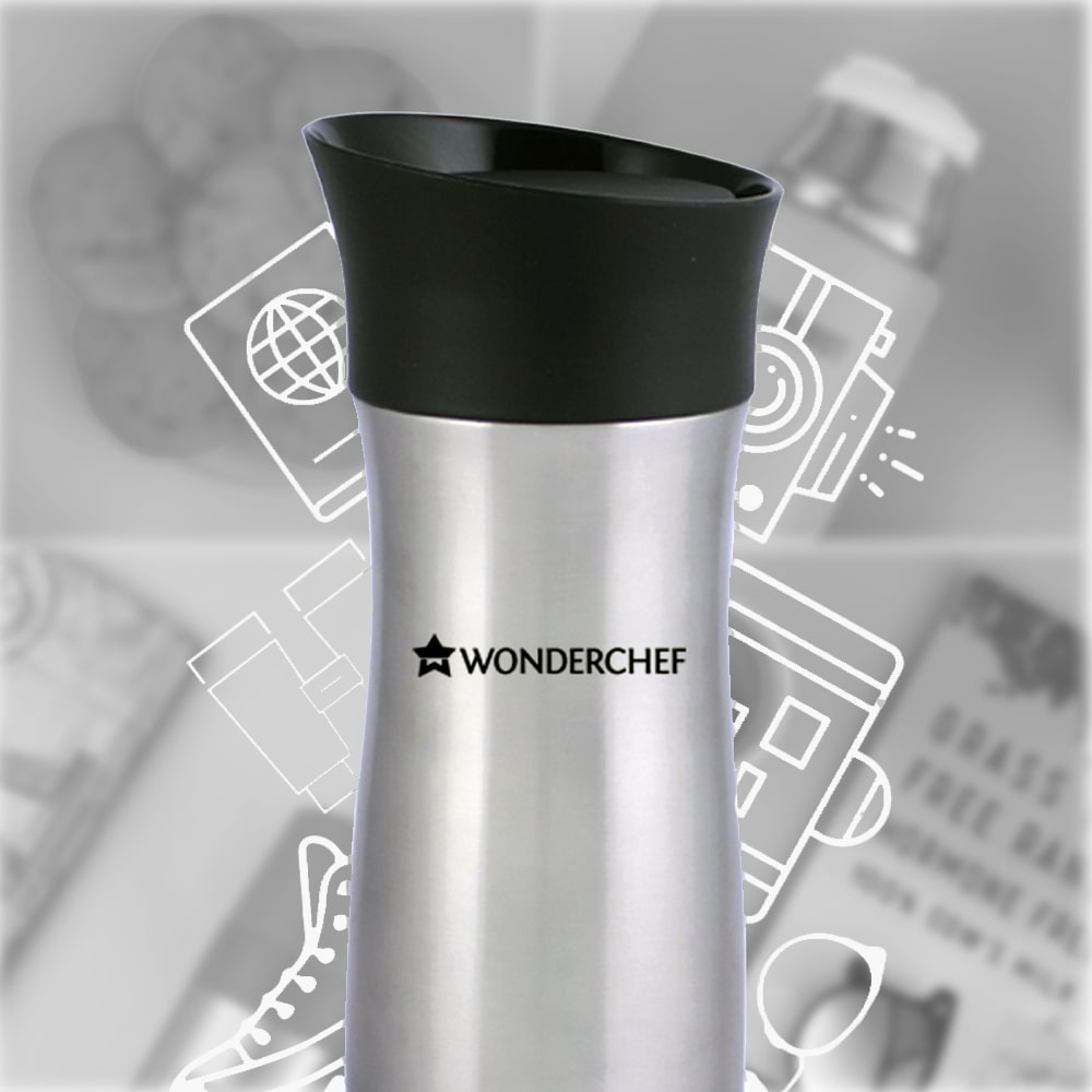 Wonderchef Travel Bot Double Wall Flask, 300ml
