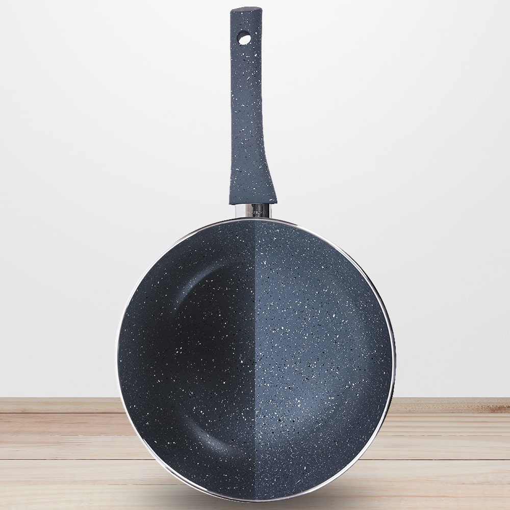 Granite Aluminium Nonstick Frying Pan 3.5mm Grey