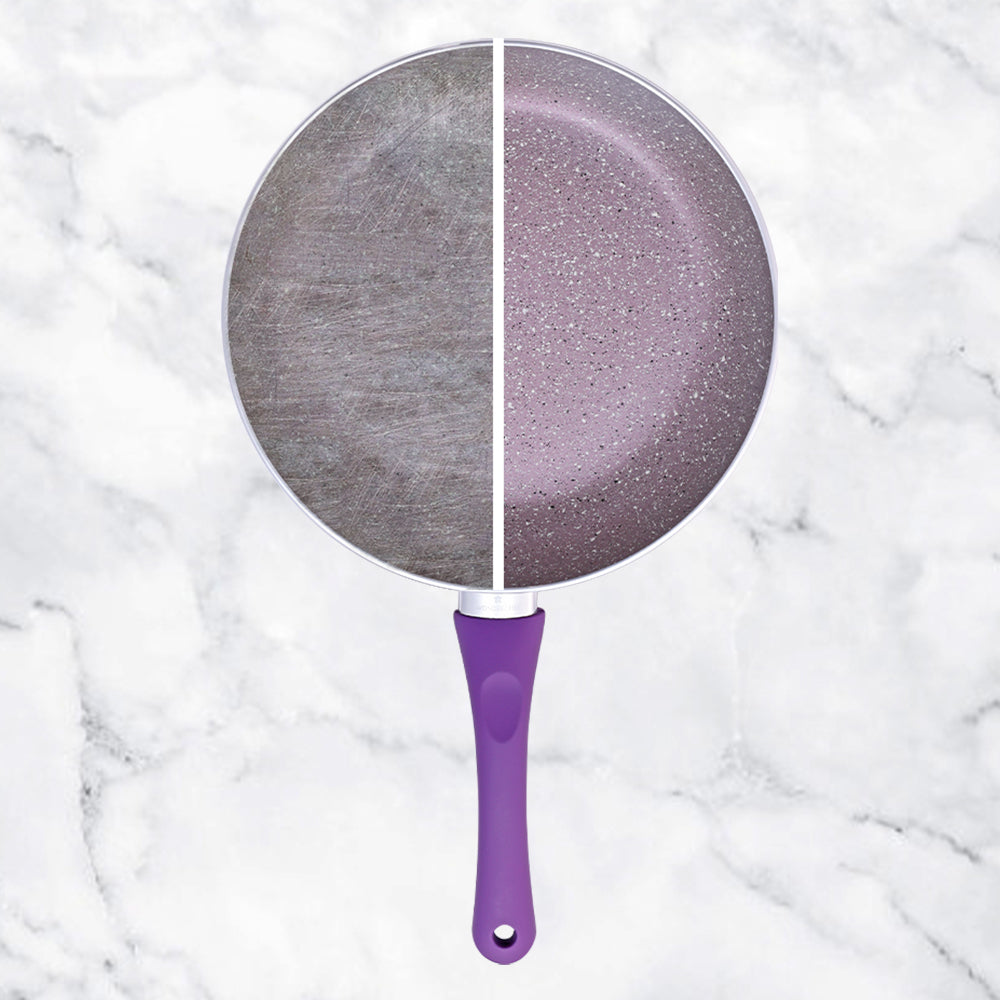 Royal Velvet Aluminium Nonstick Frying Pan 3mm, Purple