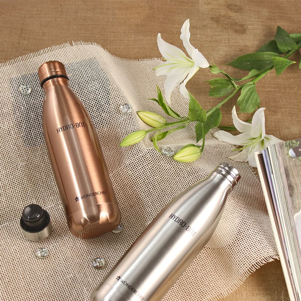 Hydro-Bot Stainless Steel Single Wall Bottle
