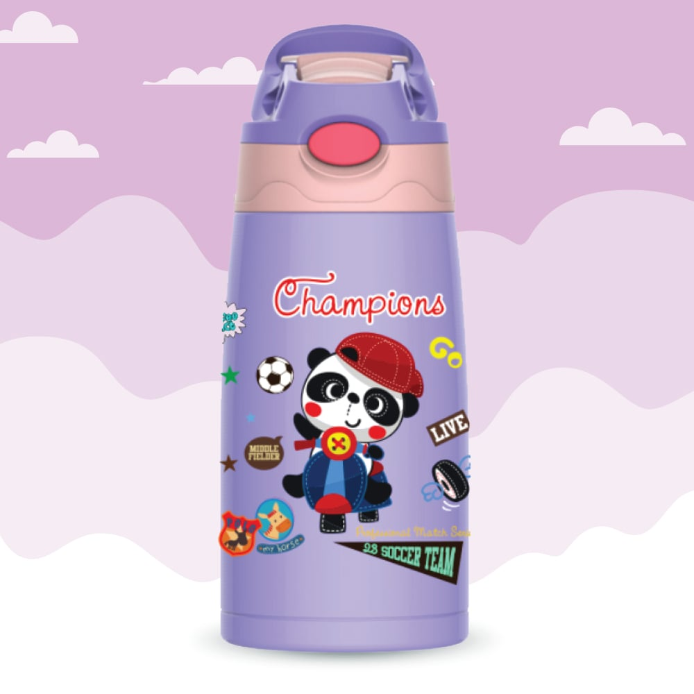 kidz Bot Stainless Steel Vacuum Insulated Double Wall Flask, 400ml