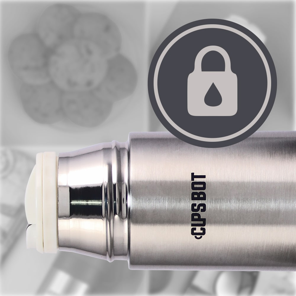 Cups-Bot Stainless Steel Vaccum Insulated Double Wall Hot and Cold Flask