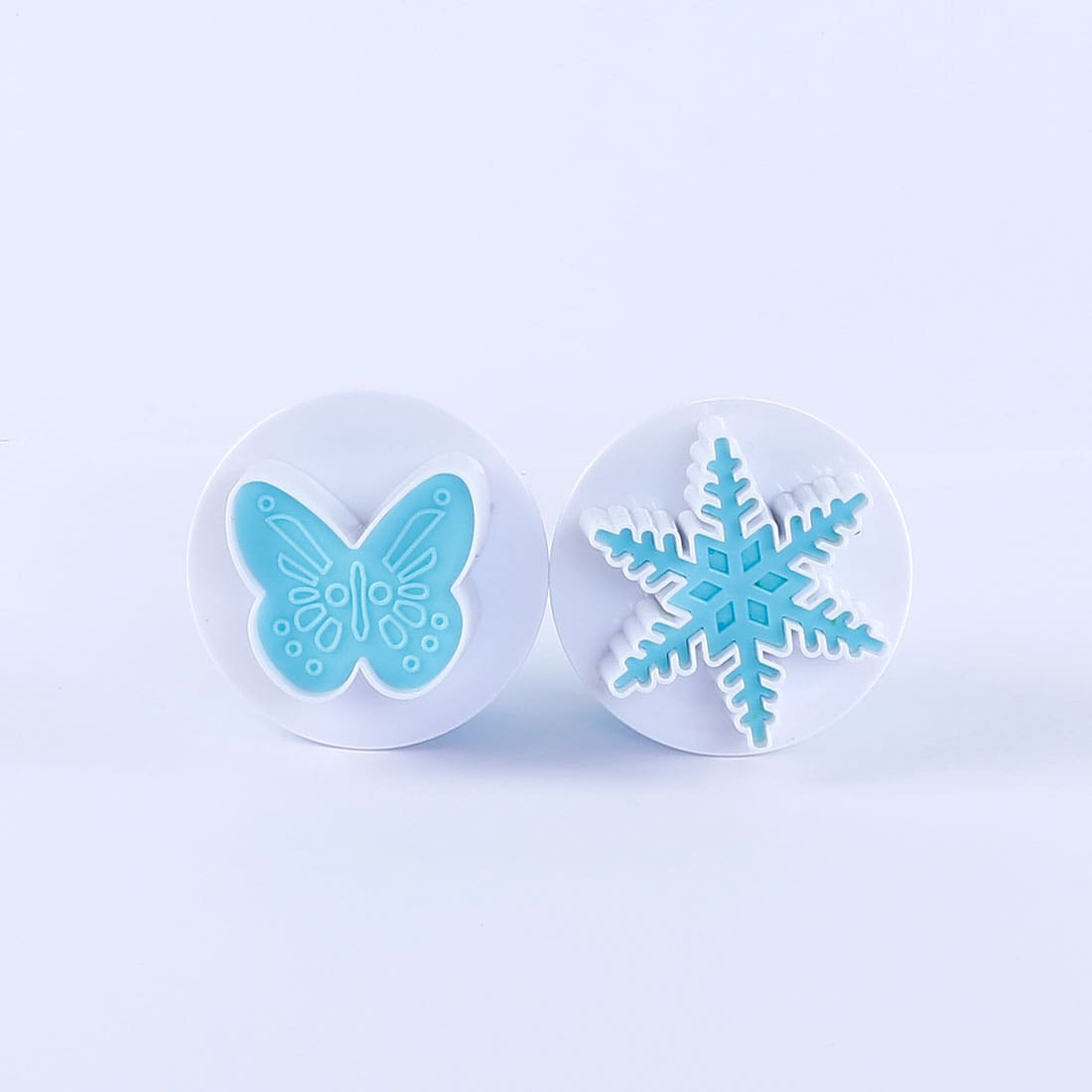 Ambrosia Plunge Cutter - Big Butterfly Shape, 2Pc