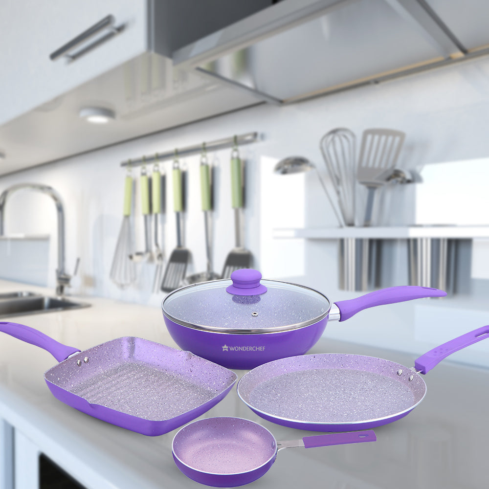 Wonderchef Celebration Set - Purple