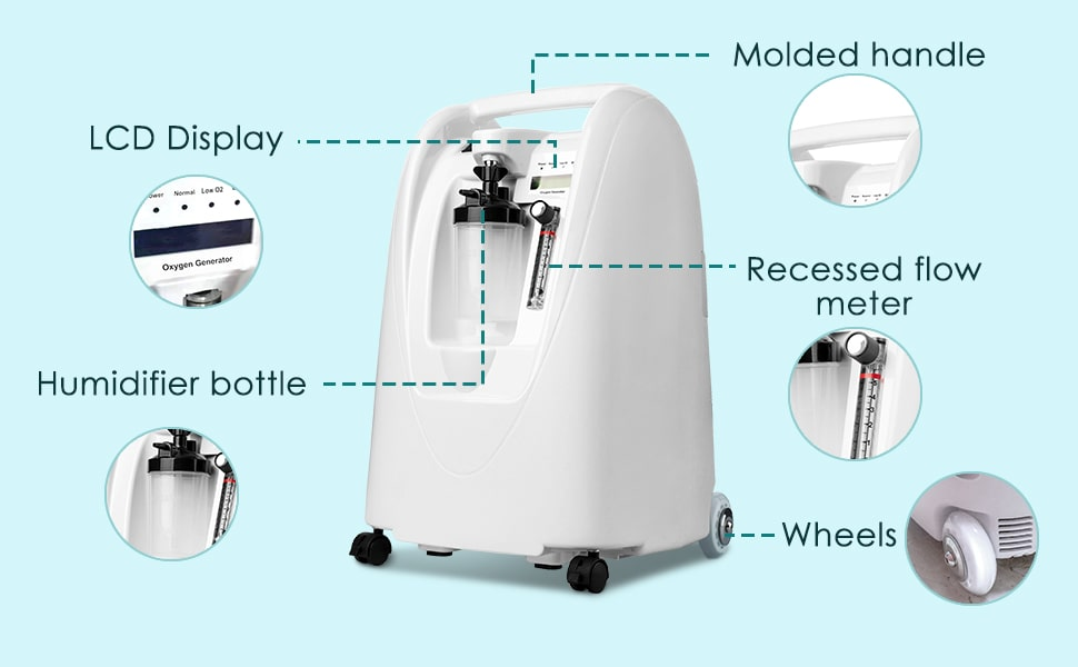 Portable Oxygen Concentrator Machine - 5 Litres (Medical Supply Equipment)