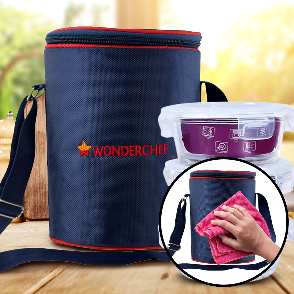Nutri-Meal Lunch Box With Bag and 3 Containers
