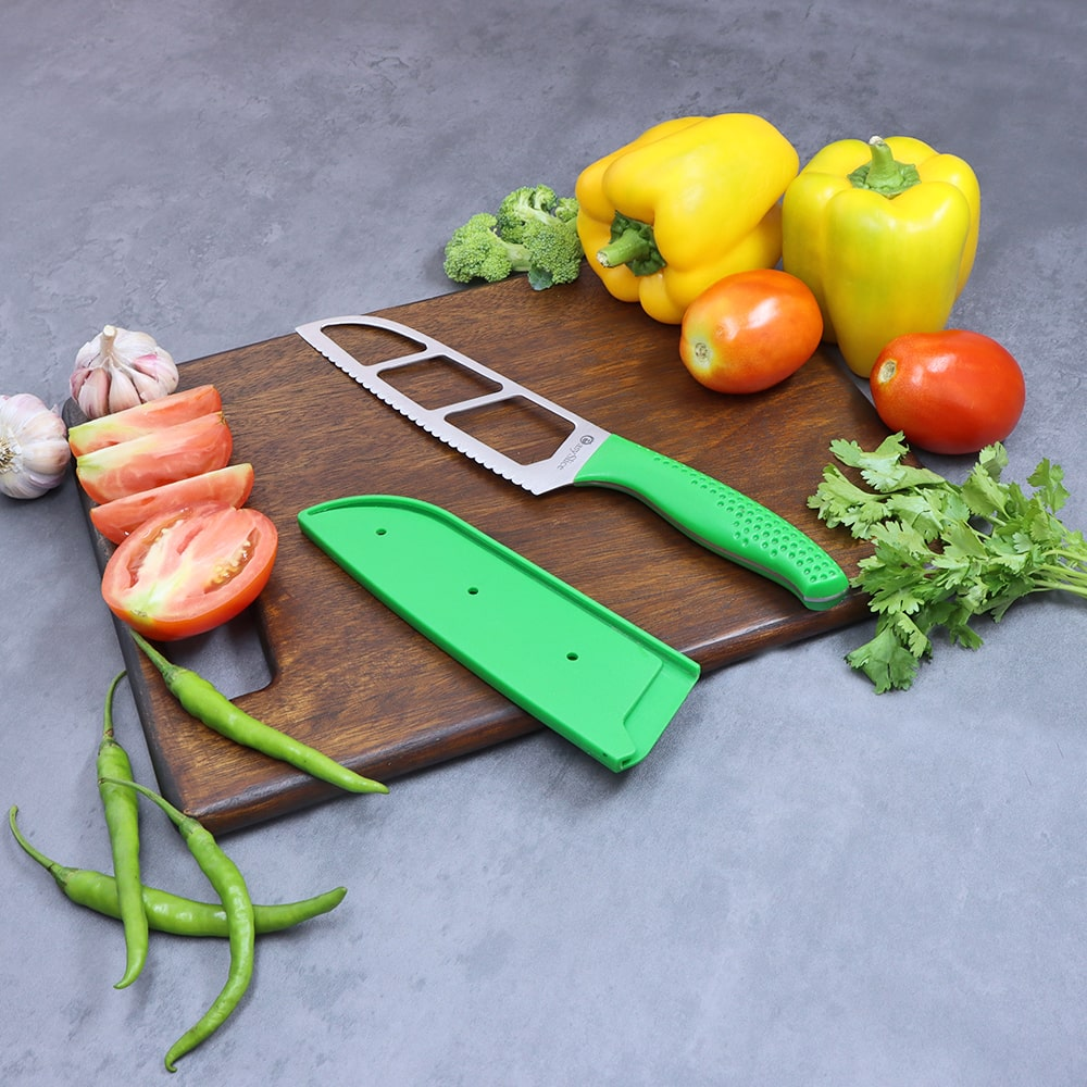 Wonderchef Easy Slice knife 6 inches -Green