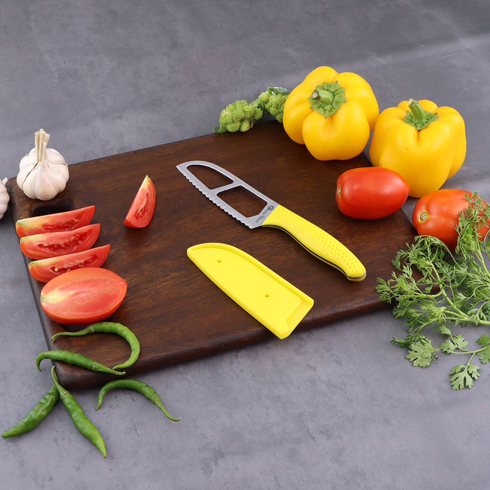 Wonderchef Easy Slice knife 4 inches -Yellow