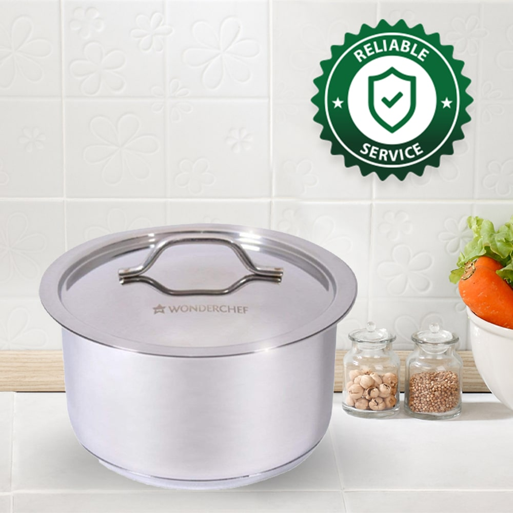 Stanton Stainless Steel Cooking Pot with Lid-20cm, 3.4L