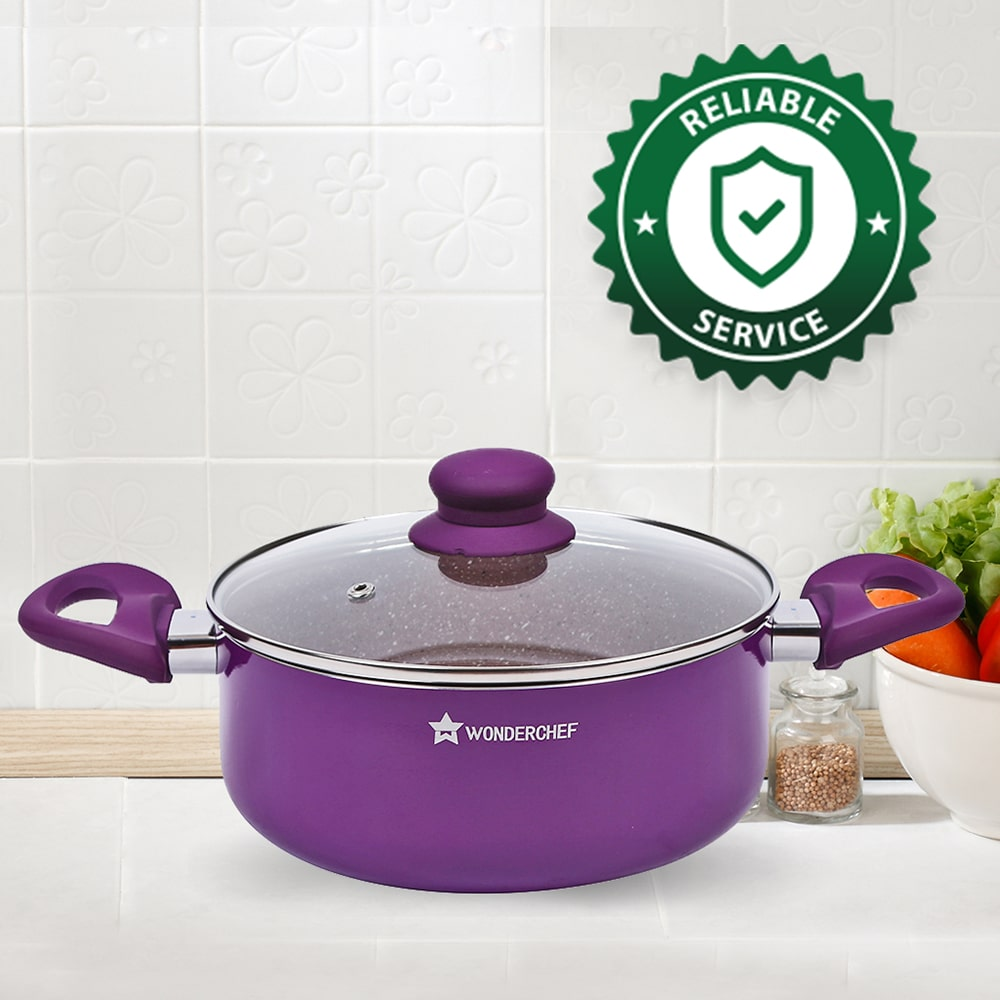 Wonderchef Royal Velvet Casserole With Lid