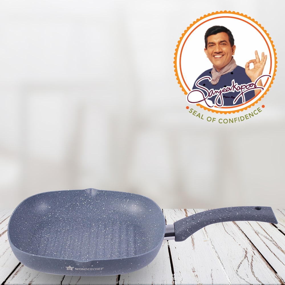 Wonderchef Granite Range Grill Pan